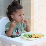 Feeding the toddler – your child will have strong desire to feed by own