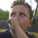Toddler sucking thumb – it is a way of learning and exploring the surrounding environment.