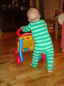 toddler walk
